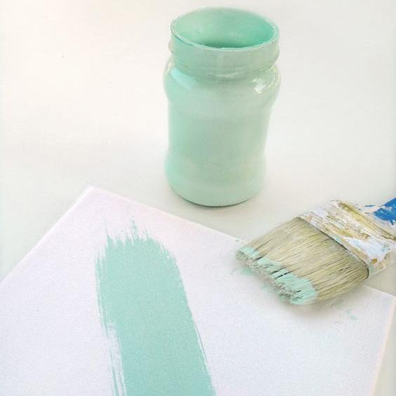 peinture chalk ou peinture la craie introduction du tutoriel. Black Bedroom Furniture Sets. Home Design Ideas